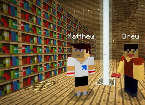 Minecraft and Immersive Learning Environments for School Librarians | American Association of School Librarians (AASL) | Transliteracy: Physical, Augmented, & Virtual Worlds | Scoop.it