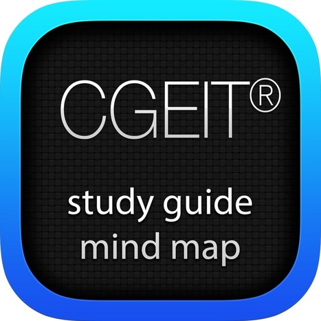 ISACA® CGEIT® study guide mind map | IT Value management | Scoop.it