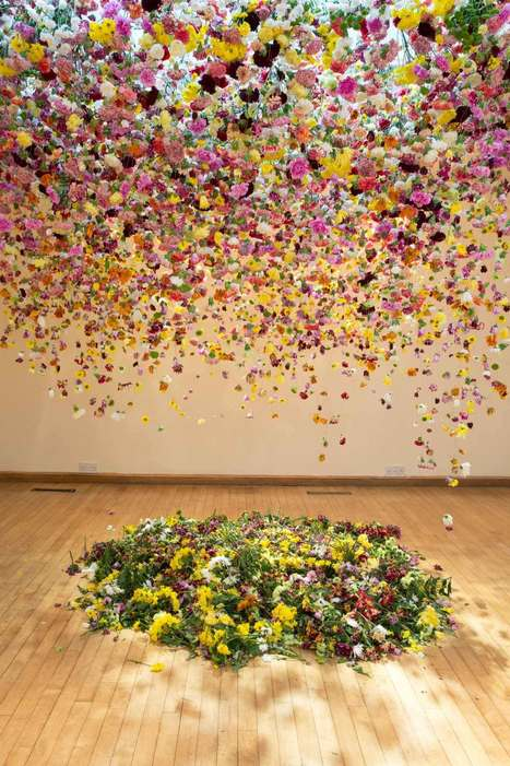 Suspended Floral Installations by Rebecca Louise Law | Victoria Florist | Scoop.it