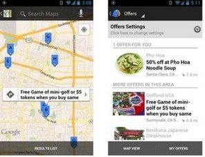 Google Offers arrive (enfin !) sur les mobiles | Web-to-Store | Scoop.it