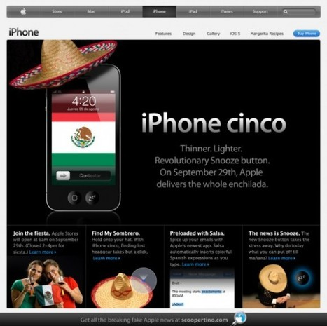Un iPhone Cinco sera lancé fin septembre, avant l'iPhone 5 | Entrepreneurs du Web | Scoop.it