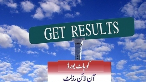 BISE Kohat Board 9th, 10th Class Matric Result 2013 | Sports | Scoop.it
