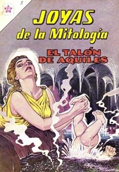 « Le talon d'Achille » version comics - el talon de Aquiles - Latine Loquere   Daniel   Scoop.it