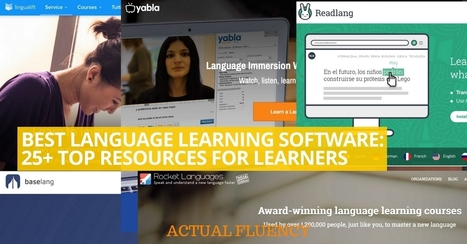 Best Language Learning Software: 25+ Top Resources for Learners | Angelika's German Magazine | Scoop.it