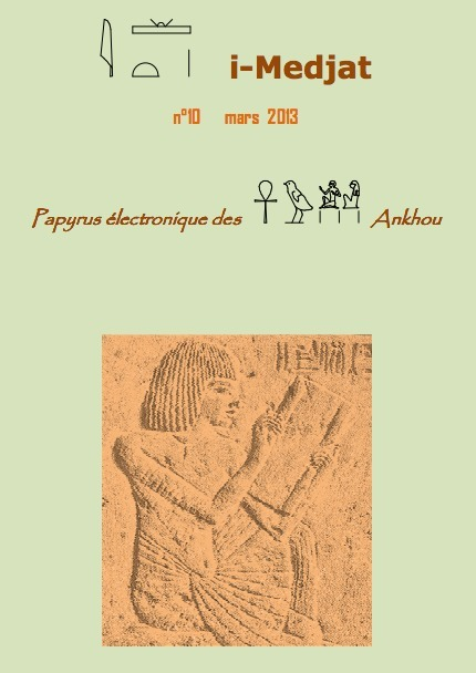 Revue i-medjat n°10 - mars 2013 | Égypt-actus | Scoop.it