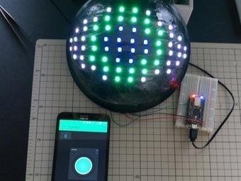 Neopixel LED EyeBall by Blynk | Open Source Hardware News | Scoop.it