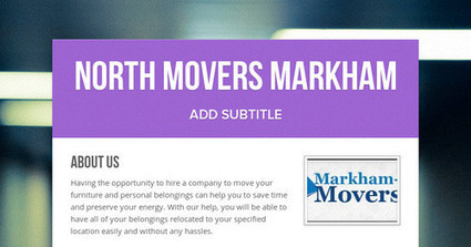 North Movers Markham | North Movers | Scoop.it