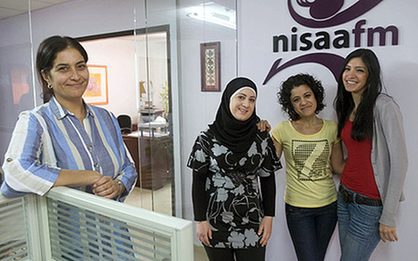 How one tiny radio station hopes to change the way Palestine treats its women - Telegraph.co.uk | Girl's Education | Scoop.it