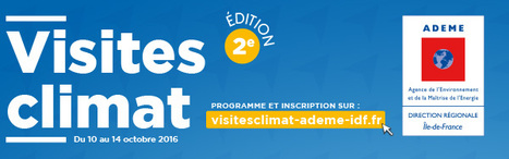 Visites Climat ADEME | EFFICYCLE | Scoop.it