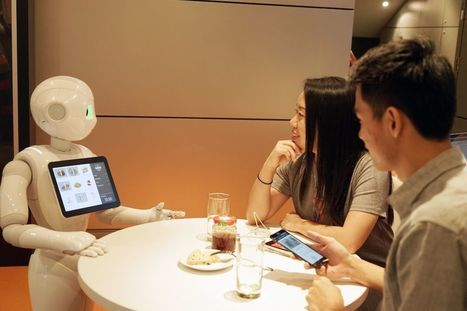 SoftBank's humanoid robot Pepper is getting a job at Pizza Hut | All digital | Scoop.it