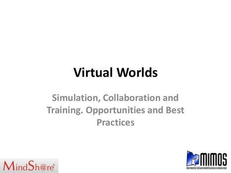 History of Virtual Worlds and current applicati... | Virtual University: Education in Virtual Worlds | Scoop.it