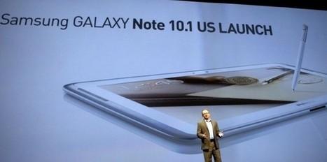 Samsung veut doubler l'iPad d'Apple avec sa nouvelle tablette | fixation du prix (mercatique) | Scoop.it
