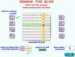 Behind the Blob Maths Game | Marvelous Math | Scoop.it