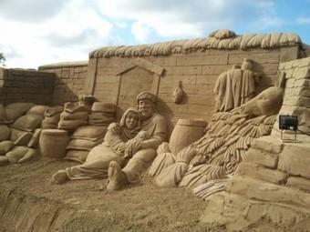Esculturas de arena para promocionar destinos de playa | Turismo y Economía | Turismo de Sol y Playa Málaga | Scoop.it