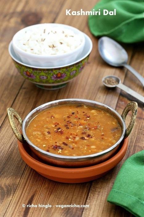 Kashmiri Dal - Split Pea & Yellow Lentil Soup with Ginger and Spices. Vegan Glutenfree Recipe | Vegan Richa | My Vegan recipes | Scoop.it