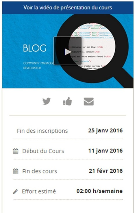 Soyez acteurs du web! (session 3) #FUNMooc | community manager | Scoop.it
