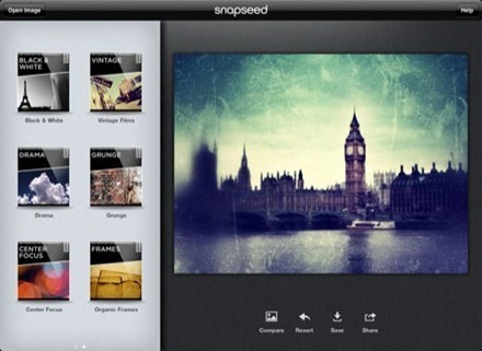 iPad App Price Drops: Snapseed Free for 3 Days | iPad for Art | Scoop.it