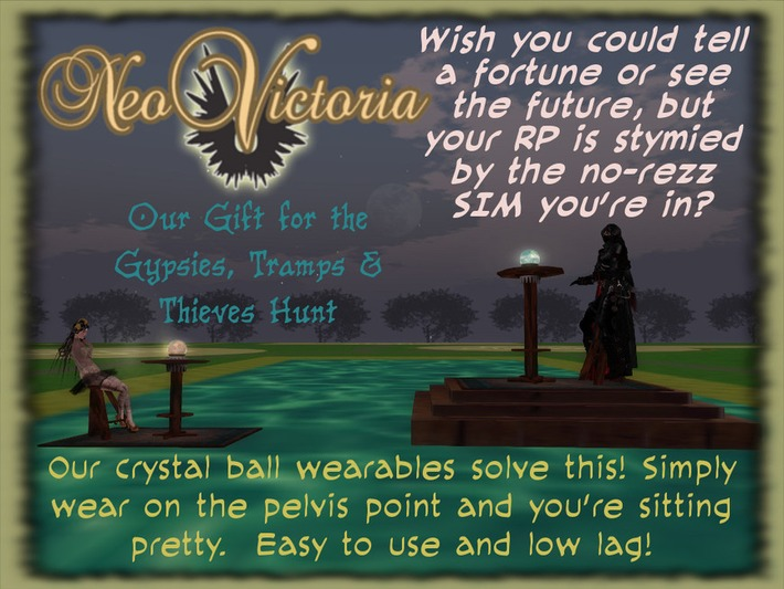 NeoVictoria is Doing the Gypsies, Tramps & Thieves Hunt | Machinimania | Scoop.it