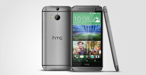 HTC présente le smartphone HTC One M8   Geeks   Scoop.it