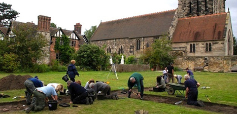 Anglo-Saxon treasures uncovered at Polesworth Abbey dig | Archaeology News | Scoop.it