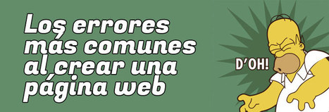 Los errores mas comunes al crear una pagina web | Emprender | Scoop.it