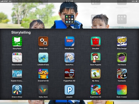 Folder Full of Storytelling Apps | Edtech PK-12 | Scoop.it