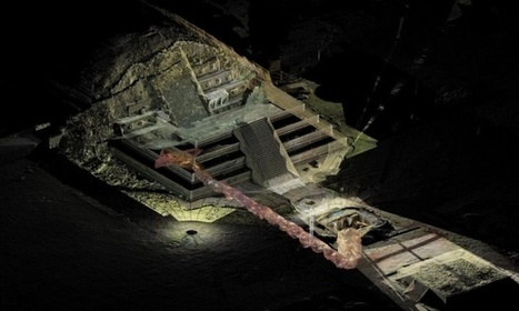 Liquid mercury found under Mexican pyramid could lead to king's tomb | The Geography of Mexico | Scoop.it