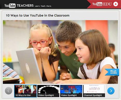 YouTube lanza un canal especifico para profesores | santecTIC | Scoop.it