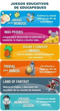 Juegos Educativos de Educapeques | ACTIVIDADES EDUCATIVAS | Scoop.it