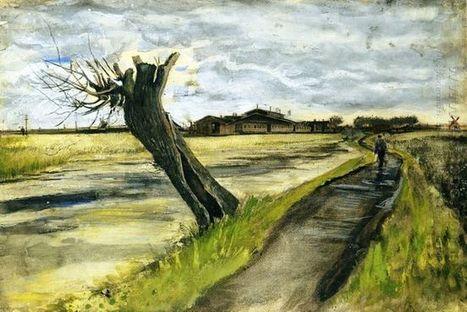 Knotwilg 1882 1 - Olieverfschilderijen | Landscapes oil paintings | Scoop.it