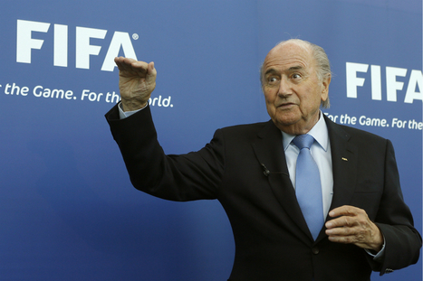 Blatter remet ça | L'attribution de compétition footballistique | Scoop.it