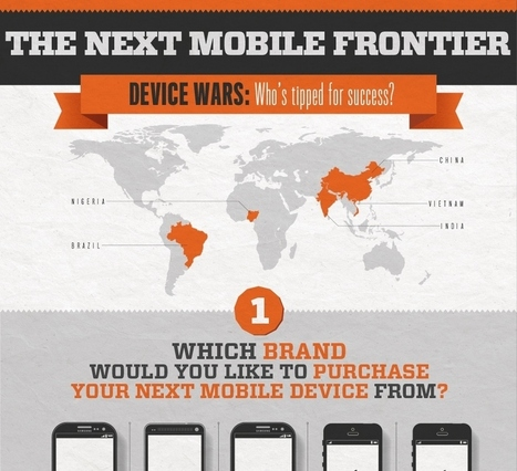 The Next Mobile Frontier [Infographic] | MobilePhones | Scoop.it