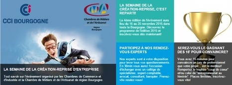 "Conférence ""Réussir son projet entrepreneurial"" 