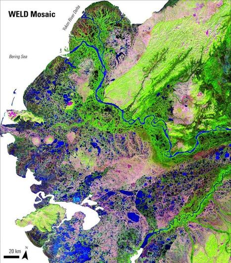 Mapping Permafrost in the Alaskan Yukon River Basin | LP DAAC :: NASA Land Data Products and Services | Remote Sensing News | Scoop.it