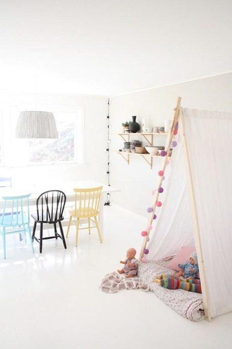 20 encantadores tipis para niños y niñas. | Mil Ideas de Decoración | Decoración de interiores | Scoop.it