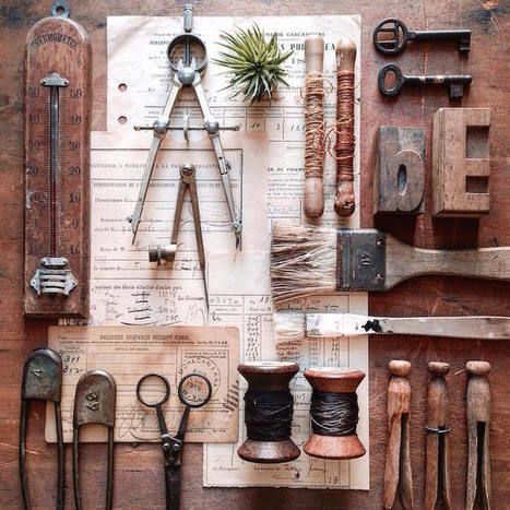 Artist Commemorates the History Behind Her Father's Vintage Tools | Le It e Amo ✪ | Scoop.it