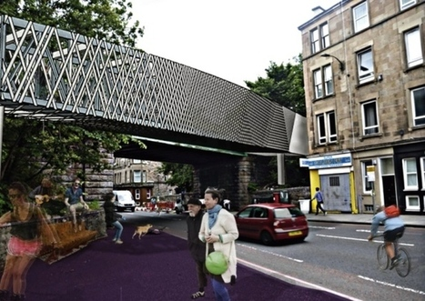 £1m Dalry Road bridge proposal released | Today's Edinburgh News | Scoop.it