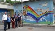 Scritta razzista e svastica sul murale dei bambini - Il Giorno - Rho Bollate | street art | Scoop.it