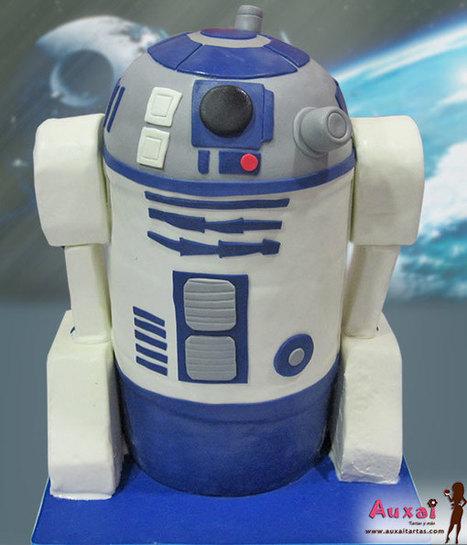 Tarta R2-D2 | Auxai Tartas | Scoop.it