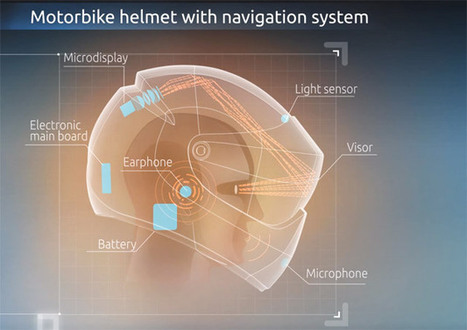 LiveMap develops augmented reality motorcycle helmet - Autoblog   Augmented Reality   Scoop.it