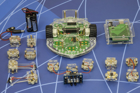 Scratch Duino: Open Source Magnetic Robot Kit for Education | Heron | Scoop.it