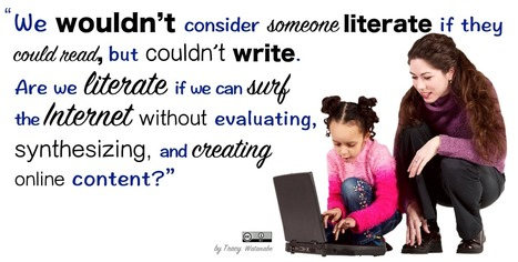 wwwatanabe: What does it mean to be literate in the 21st century? | Edtech PK-12 | Scoop.it