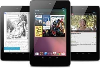Android : la tablette Nexus 7 en commande en France | eBouquin | Nouveaux modèles et nouveaux usages | Scoop.it