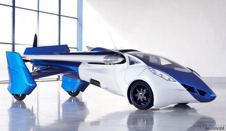 Des voitures volantes pourraient être commercialisées à partir de 2017 | Post-Sapiens, les êtres technologiques | Scoop.it