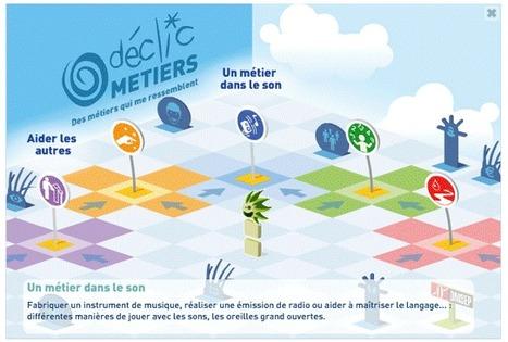 ONISEP - Déclic Metiers | Sitographie pour l'orientation | Scoop.it