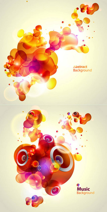 Colorful Vector Background Graphics   Vector Graphics   Graphic Design Junction   Designing   Scoop.it
