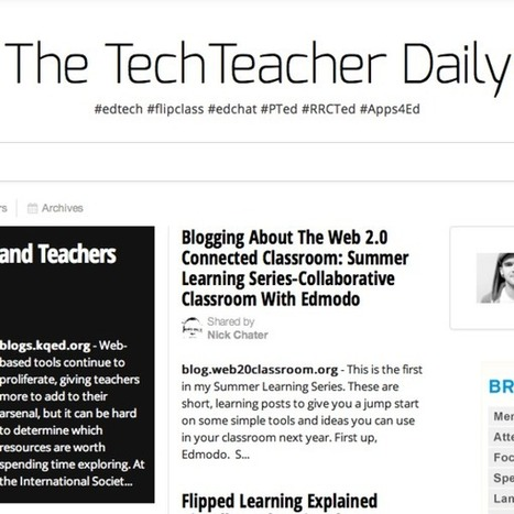 Ed Tech - Resources to successfully integrate technology into your classroom next year - start planning this summer | Educational technology | Scoop.it