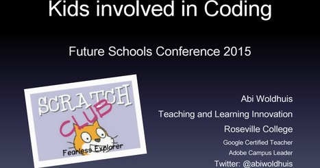 Coding Clubs and Getting Kids involved in Coding | digital divide information | Scoop.it