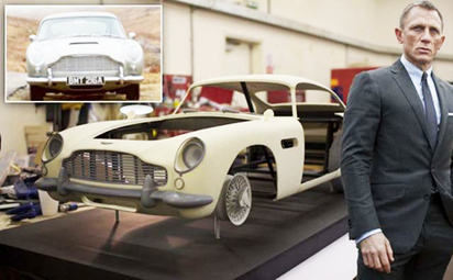 'Skyfall' Producers Used 3D Printed Cars Instead Of Real Aston Martins | 3d printers and 3d scanners | Scoop.it