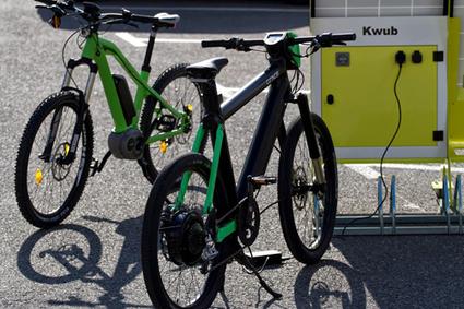 Bornes de recharge avec stockage : le Kwub 140 | Innovation - Environnement | Scoop.it